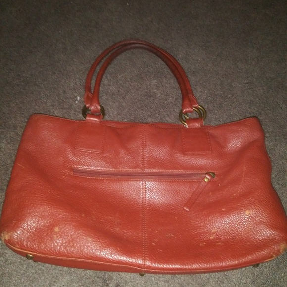 Coach Handbags - Coach Red/Orange purse